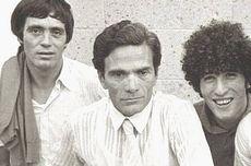 Sergio Citti con Pasolini e Ninetto Davoli