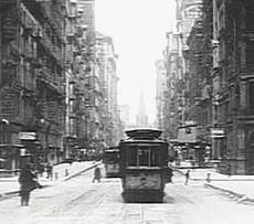 Tram a Manhattan