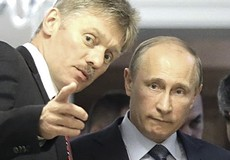 Dmitrij Peskov con Putin