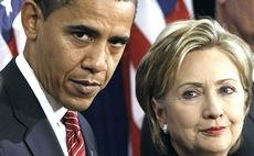 Obama e la Clinton