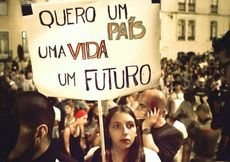 Portogallo, protesta