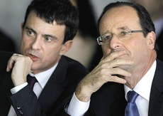 Valls e Hollande