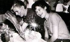 David Bowie e Coco Schwad