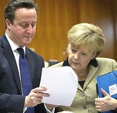 Cameron e Merkel