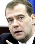 Il premier Medvedev, vicino agli atlantisti