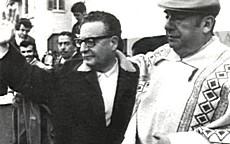 Neruda con Allende