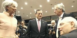 Lagarde, Draghi, Juncker e Schaeuble