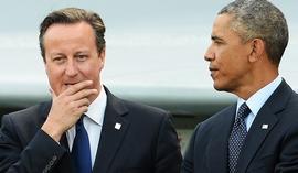 Cameron con Obama