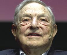 Il magnate George Soros
