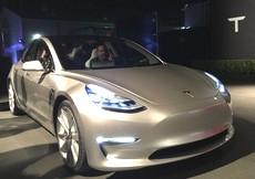 La nuovissima Tesla 3