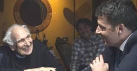Pannella con Renzi