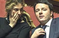 Renzi con Marianna Madia