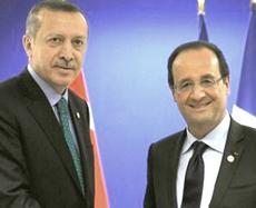 Erdogan e Hollande
