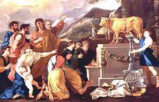 L'adorazione del vitello d'oro
