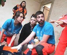 Giovani volontari del soccorso