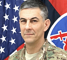 Il generale Stephen Townsend