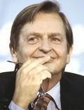 Il leader socialista svedese Olof Palme
