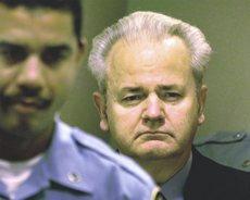 Milosevic nel carcere di Scheveningen