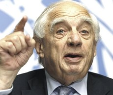 Peter Sutherland, ex Goldman Sachs
