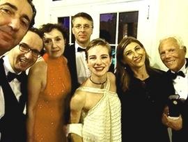 Foto di gruppo alla Casa Bianca