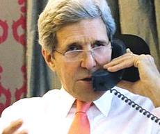 John Kerry intercettato
