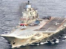 La portaerei Kuznetsov
