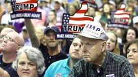 Supporters di Trump