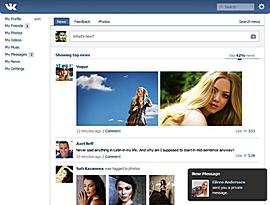 Vkontakte, il Facebook russo