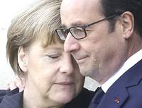 Merkel e Hollande