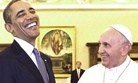 Obama e Bergoglio