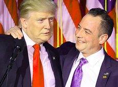 Trump con Reince Priebus