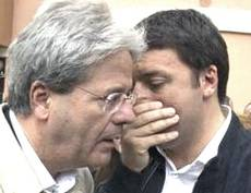 Renzi con Gentiloni