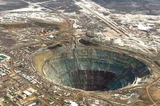 Il misterioso cratere di Popigai