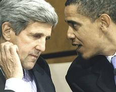 Kerry e Obama