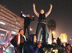 La liberazione di Aleppo, folla esultante