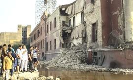 Il consolato italiano al Cairo sventrato da una bomba