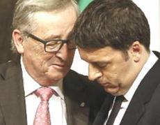 Juncker e Renzi
