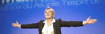 Marine Le Pen a Lione