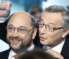 Schulz e Juncker