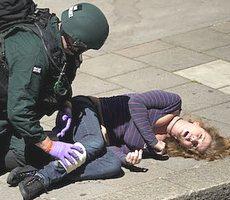 Esercitazione antiterrorismo a Londra