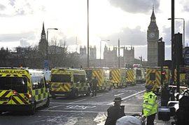 Londra blondata dopo l'attentato a Westminster