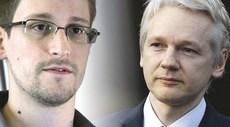 Snowden e Assange