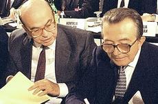 Craxi e Andreotti