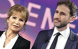 Davide Casaleggio con Lilli Gruber