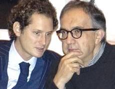 John Elkann e Sergio Marchionne