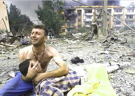 L'Ossezia del Sud devastata dalla Georgia su mandato Usa