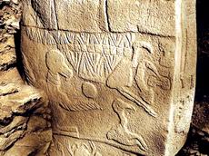 La Stele dell'Avvoltoio a Gobekli Tepe