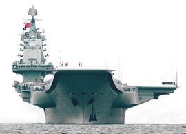 La portaerei cinese Liaoning