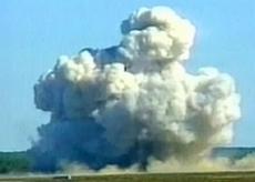La superbomba Moab sganciata in Afghanistan