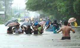 San Salvador, alluvione